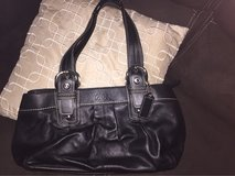 new authentic coach purse        color black in Shorewood, Illinois