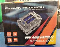 Power Acoustik 600 Amp Capcell in Camp Lejeune, North Carolina