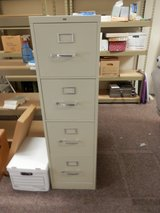 4 Drawer HON Filing Cabinet in Shorewood, Illinois