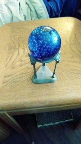 This is just an old globe with stand in Vacaville, California