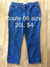 Route 66 size 20L jeans in Camp Lejeune, North Carolina