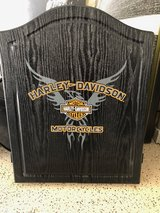 Harley Davidson dartboard/cabinet in Camp Pendleton, California