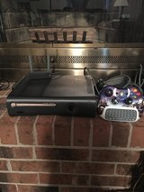 XBOX 360 ELITE 120 GB with Wireless Adapter and Controller in Cherry Point, North Carolina
