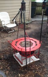 Firepit/Grill-Outdoor Custom Made Heavy Metal-One Of A Kind! in Kingwood, Texas