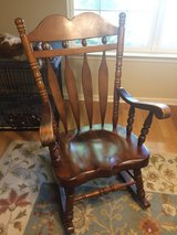 Rocking chair in Fort Rucker, Alabama