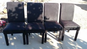 4 dining chairs in 29 Palms, California