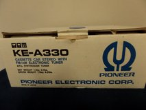 PIONEER KE-A330 Vintage Car Stereo AM/FM Tuner Cassette NEW in Kingwood, Texas