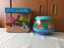 Blocks (Peeka blocks ) and fish bowl  (set of two toys) Fisher Price in Ramstein, Germany