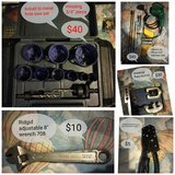 Assorted tools(prices negotiable) drill and hole saw have been sold in Leesville, Louisiana