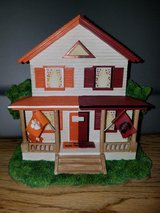 Clemson/Carolina House Divided figurine in Beaufort, South Carolina