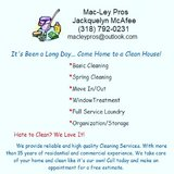 Residential and Commercial Cleaning in Leesville, Louisiana