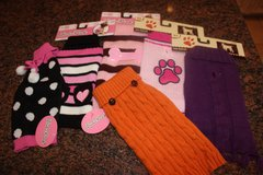 Lot of 6 Doggie Sweaters - Size XS in Spring, Texas