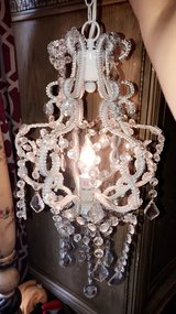 crystal chandeliers. I have 2. in Joliet, Illinois