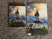 Legend of Zelda Breath of the Wild strategy guide and poster in Warner Robins, Georgia