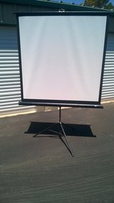 Portable projector screen in Alamogordo, New Mexico