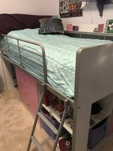 Girls Loft Bed with Dresser and storage- in Kingwood, Texas