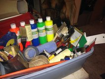 Painting Supplies-Large Lot Of Assorted Painting Supplies in Kingwood, Texas
