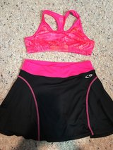 Girls size L (10-12) Sports Bra and Athletic Shorts in Naperville, Illinois