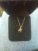 SD Black Hills Gold 10k and onyx necklace in Fort Lewis, Washington