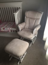 Dutailier glider chair with footrest in Alamogordo, New Mexico
