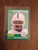 1989 Andre Rison RC in Byron, Georgia