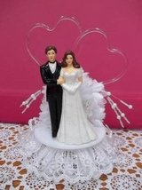 Wedding Cake (Bride and Groom) Topper - L@@K! in Brookfield, Wisconsin