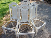 Four Unfinished Chairs in Aurora, Illinois