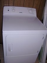 Hot Point white dryer used 2 years old very clean in Fort Campbell, Kentucky