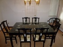 Japanese style dining table set in Travis AFB, California
