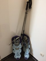 Tubbs 25 Adventure Women's snowshoes and poles in Wiesbaden, GE