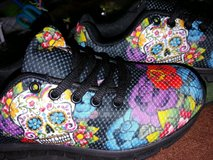 Sugar Skull Shoes in Conroe, Texas