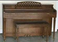 vintage Cable-Nelson piano in DeRidder, Louisiana