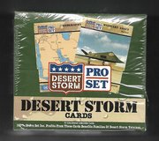 1991 DESERT STORM COMPLETE UNOPENED 36CT BOX in Ramstein, Germany