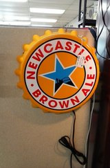 Beer Sign Newcastle Ale Light-Up Sign (2282-21) in Camp Lejeune, North Carolina