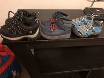 Baby boy shoes 3 pairs in Leesville, Louisiana