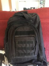 Black Tactical Bug-out backpack in Ramstein, Germany