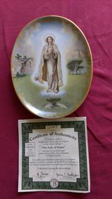 """""""Our Lady of Fatima"""" collector plate in Warner Robins, Georgia"""