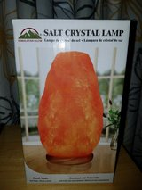Salt Crystal Lamp in Barstow, California