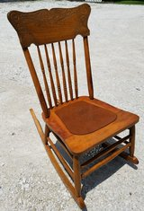 Antique Children's Rocker in Yorkville, Illinois