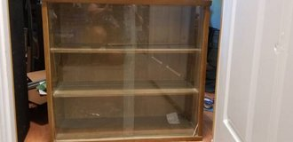 Vintage Cabinet with glass doors in Fort Drum, New York