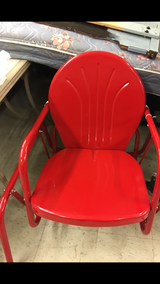 Red Gliding Chair (New) in Fort Leonard Wood, Missouri