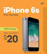 iPhone 6 s pre owned in Alvin, Texas