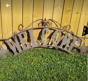 """Rustic """"Welcome"""" Sign- For Outdoor or Indoors in Baytown, Texas"""