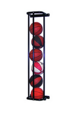 Jaypro Stackmaster Basketball Wall Storage Rack, in Camp Pendleton, California