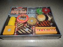NEW Melissa & Doug Pretend Wooden BBQ Food Set in Morris, Illinois