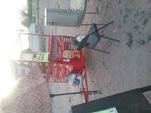 Food cart grill in El Paso, Texas
