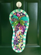 Summer Flip Flop Door Hanger/Wreath in Naperville, Illinois