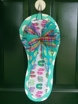 Flip Flop Door Hanger/Wreath in Naperville, Illinois