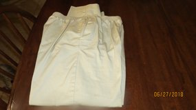 Alfred Dunner Pants Size 14 Short Misses Women's Cotton Casual Tan -  New w/o Tags in Warner Robins, Georgia