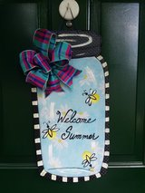 Welcome Summer Mason Jar Door Hanger/Wreath in Naperville, Illinois